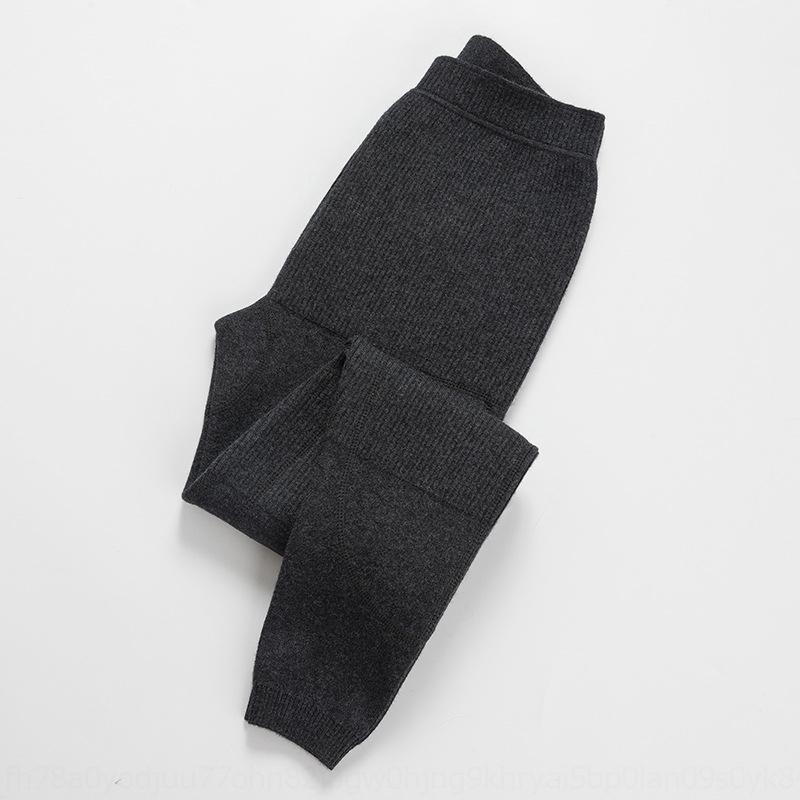 S6JEo et6oL New Silk patch de lã de três altas plano e mulheres das calças engrossado calças slim cintura quente quentes basear interior cashmere homens de