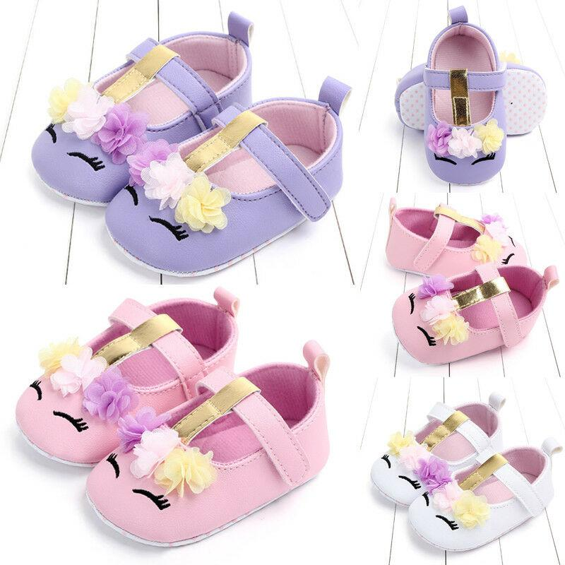 Pudcoco 2020 New Fashion Infant Newborn Baby Girls Soft Comfortable Cute High Quality PU Leather Crib Shoes Walking Flat Shoes