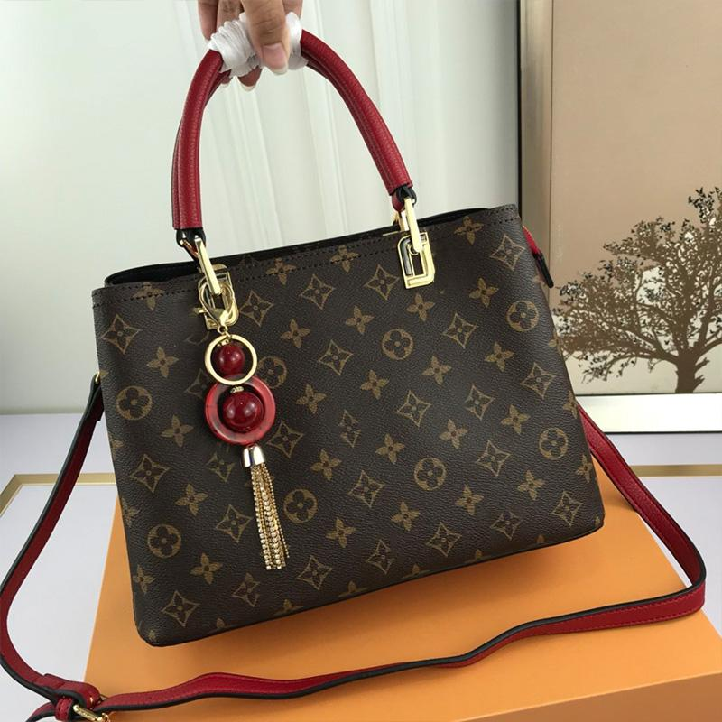 Clássico Mãe Moda Shoulder Bag Handbag Tote Bag Crossbody High End Mulheres Handbag Bolsa de Grande Capacidade Black Zipper Messenger Bag Type2