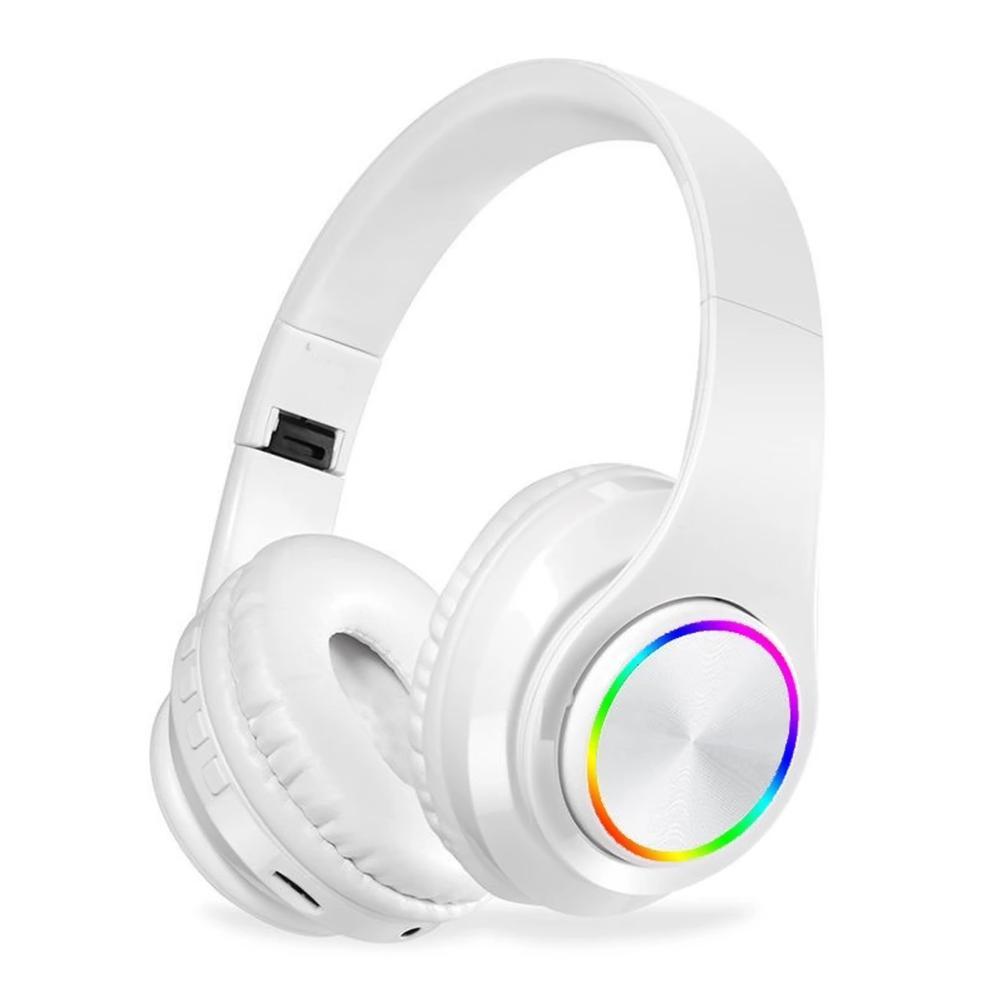 B39 RGB Световая беспроводной BT 5,0 гарнитура стерео наушники Foldablet наушники наушники микрофон