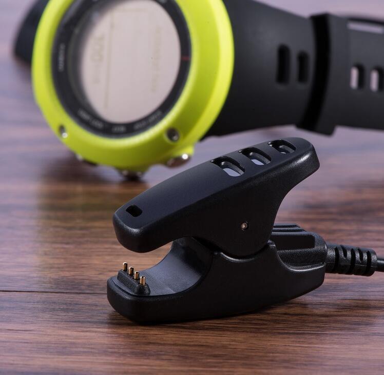 Зарядное устройство USB-кабель для Магнитный Suunto Suunto 5 3 Ambit 1/2/3 Смарт Часы Fast Charge Клип Замена адаптер зарядного устройства Часы
