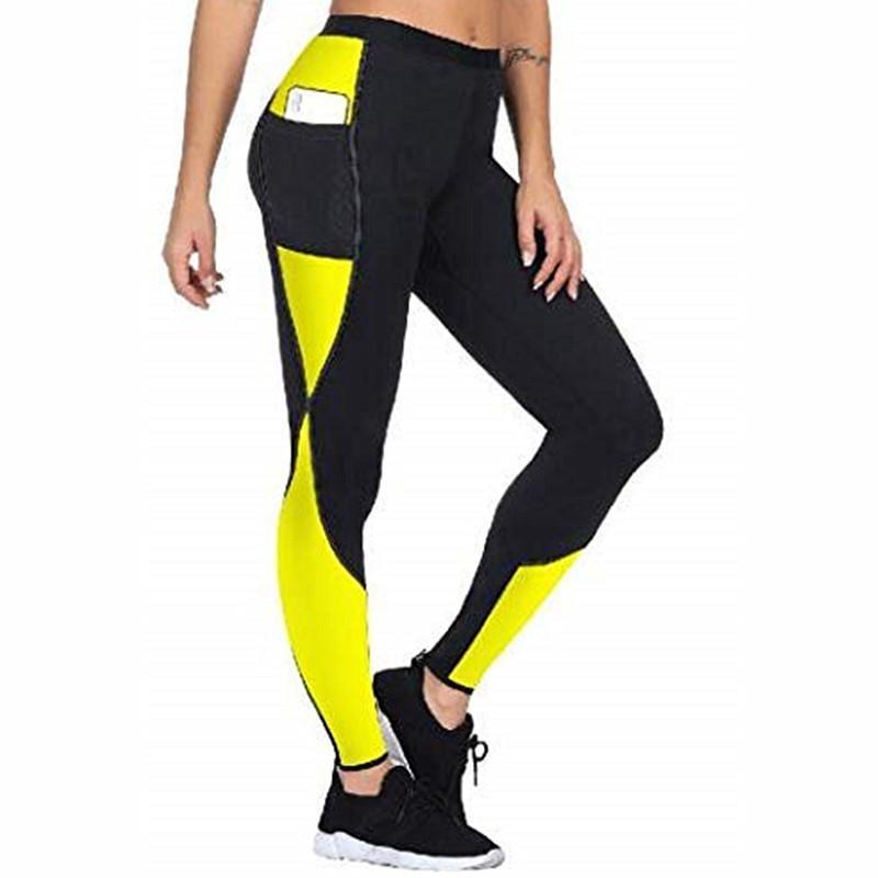 Le nuove donne Pantaloni donne mantenere il riscaldamento di sudore sauna neoprene pantaloni Legging Controllo Mutandine Body Shaper della vita Trainer dimagrante Shapers 200922