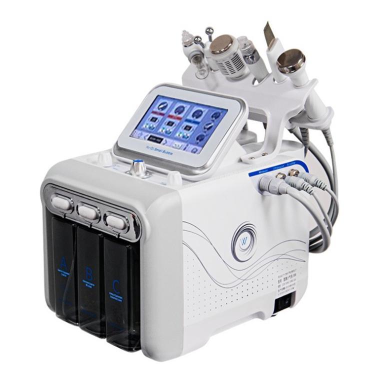 6 1 Su Hidrojen Oksijen Güzellik Makinası Hidro Dermabrazyon Temiz Yüz Cilt Bakımı Jet Peel Makinası Profesyonel Cilt Gençleştirme içinde