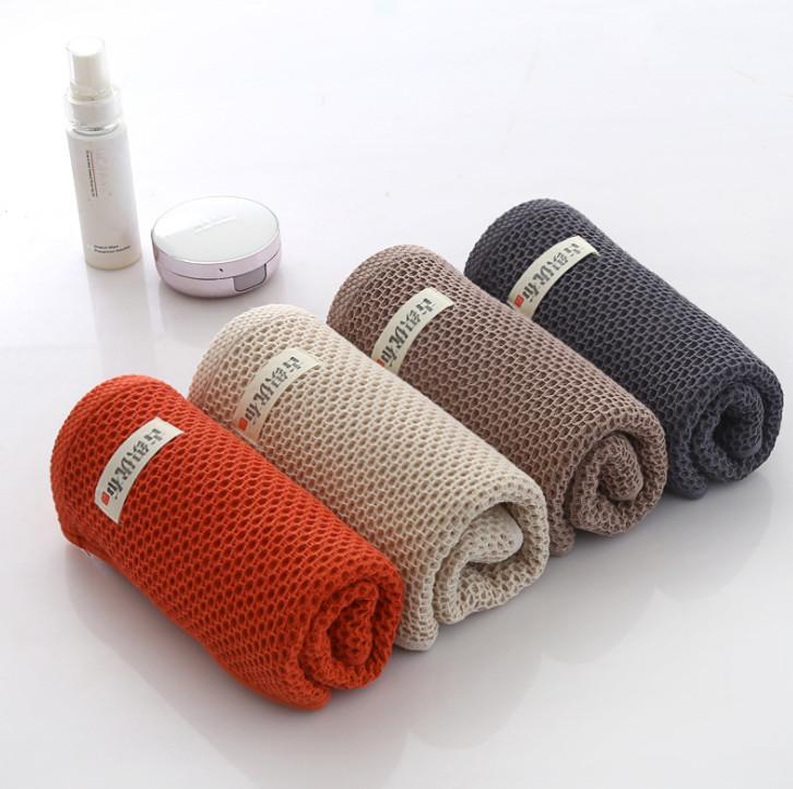 أحدث نموذج من 33x34cm حجم منشفة، القطن الياباني العسل الشاش الشاش يونيفرسال الوجه غسل المناشف، مناديل ناعمة وامتصاص