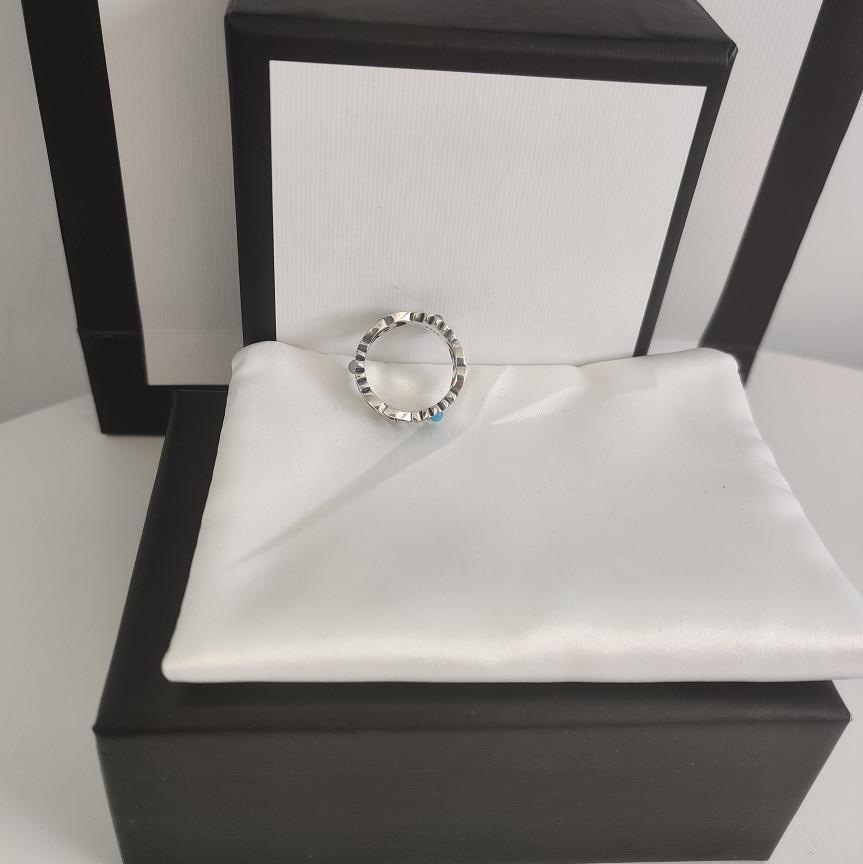 المنتجات الجديدة S925 خاتم فضة الأعلى سحر التصميم الدائري السامية حلقة الجودة مجوهرات زوجين العرض