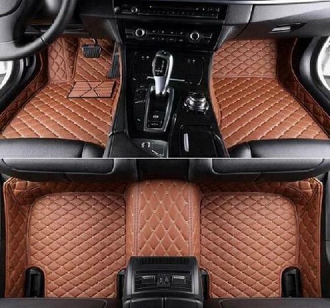 2006-2019 cuero para Land Rover Range Rover Sport Car Floor Mats Estera a prueba de agua