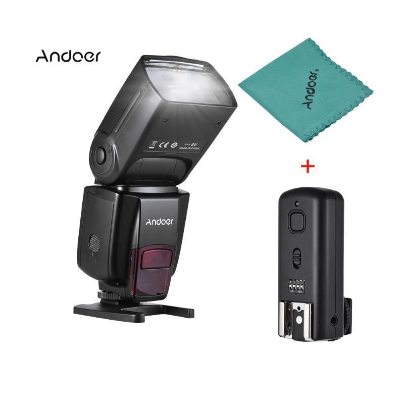 Andoer AD560 IV 2.4G sans fil esclave Speedlite Flash Light GN50 avec Flash Trigger pour A7 / A7 II / A7S / A7R