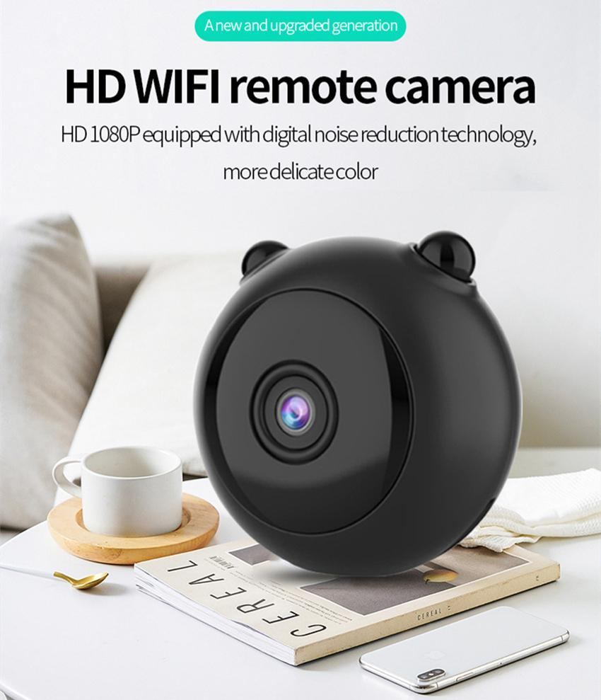 A12 Mini Wireless Camera WiFi HD 1080P Home Security IP CCTV Camera Night Vision Small Camcorder Remote Monitor Hidden Support TF Card