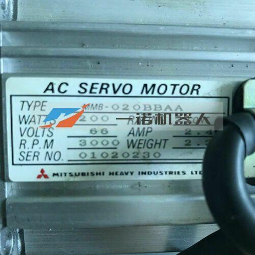 1PC MITSUBISHI MMB-077BBAB-A servo motorlu Özel Fırsat