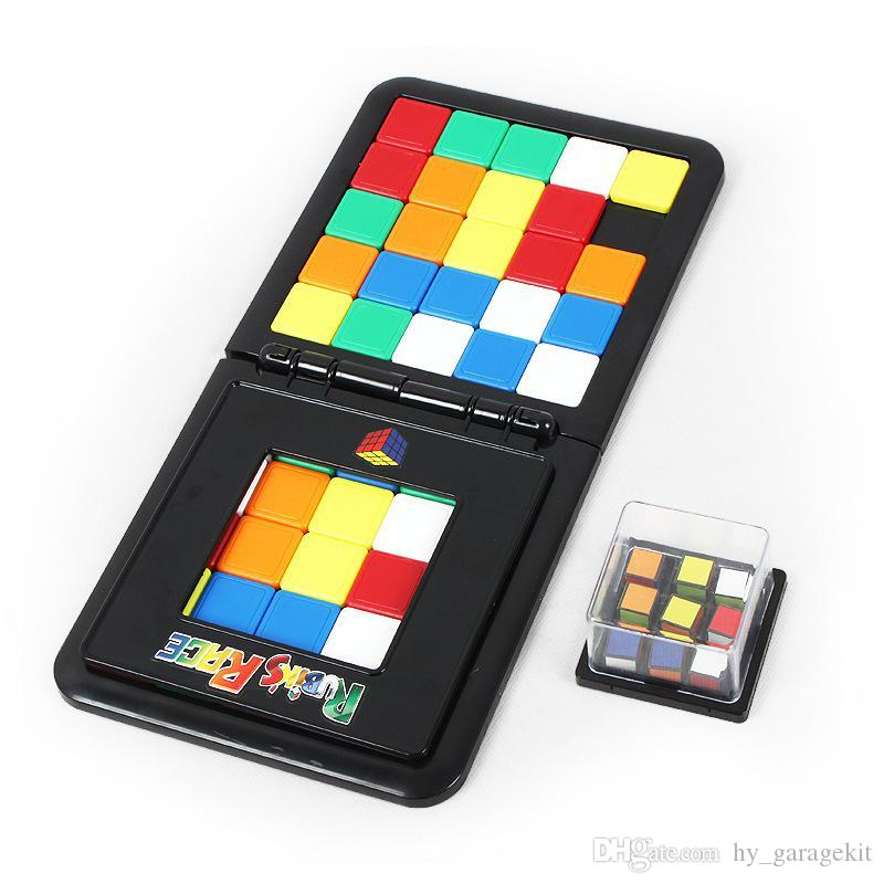 New and interesting puzzle game toy color mobile Rubik's Cube 2 vs puzzle fun puzzle interactive toy for boys and girls
