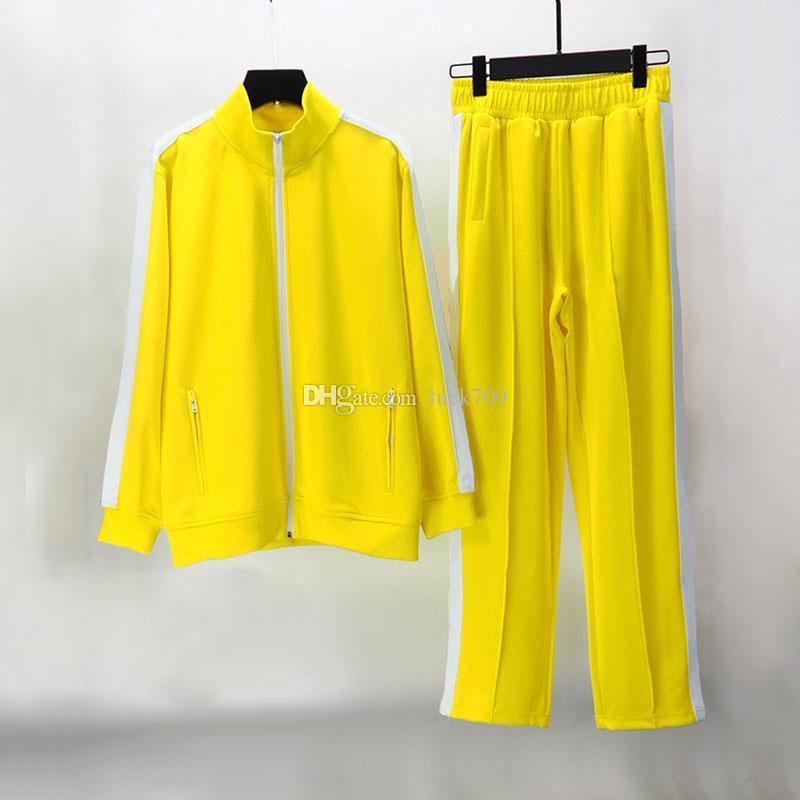 2020 Mens Tracksuit Camisolas Suits Homens Mulheres Track Sweatsuit Casacos Menores Casacos Casaco Com Capuz Sportswear