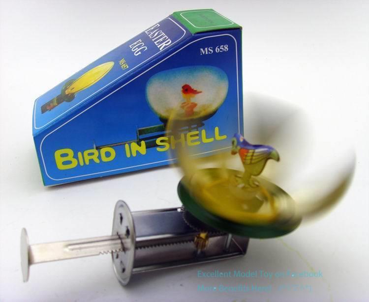 NB Tinplate Retro Wind-Up Chicks Magpie Hatch Von Eggshells, Aufziehspielzeug, Nostalgisch Ornament, Kindergeburtstags-Weihnachtsgeschenk, Collect, MS637, 2-1