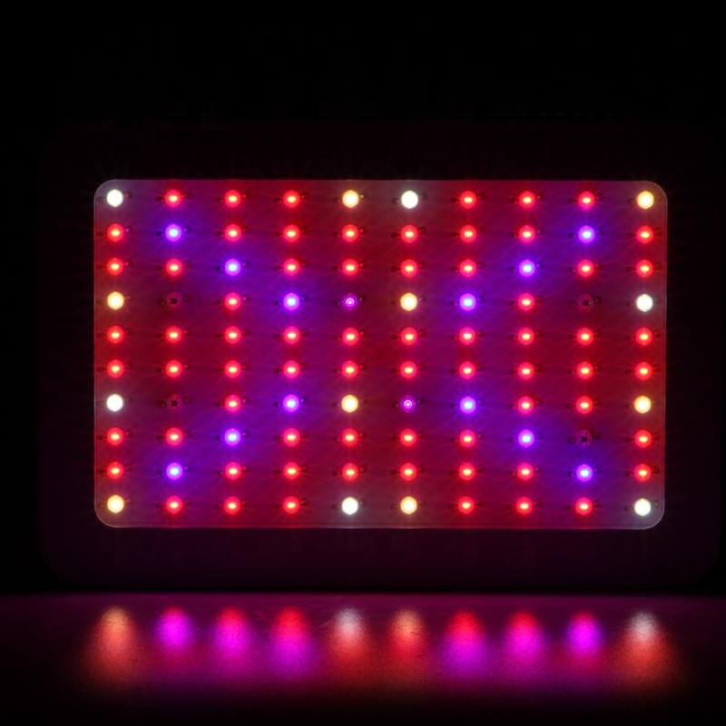 Double switch Double core LED Grow Light 2000w Full Spectrum Led Grow Tent Covered Greenhouses Lamp Plant Grow Lamp for Veg Flowering