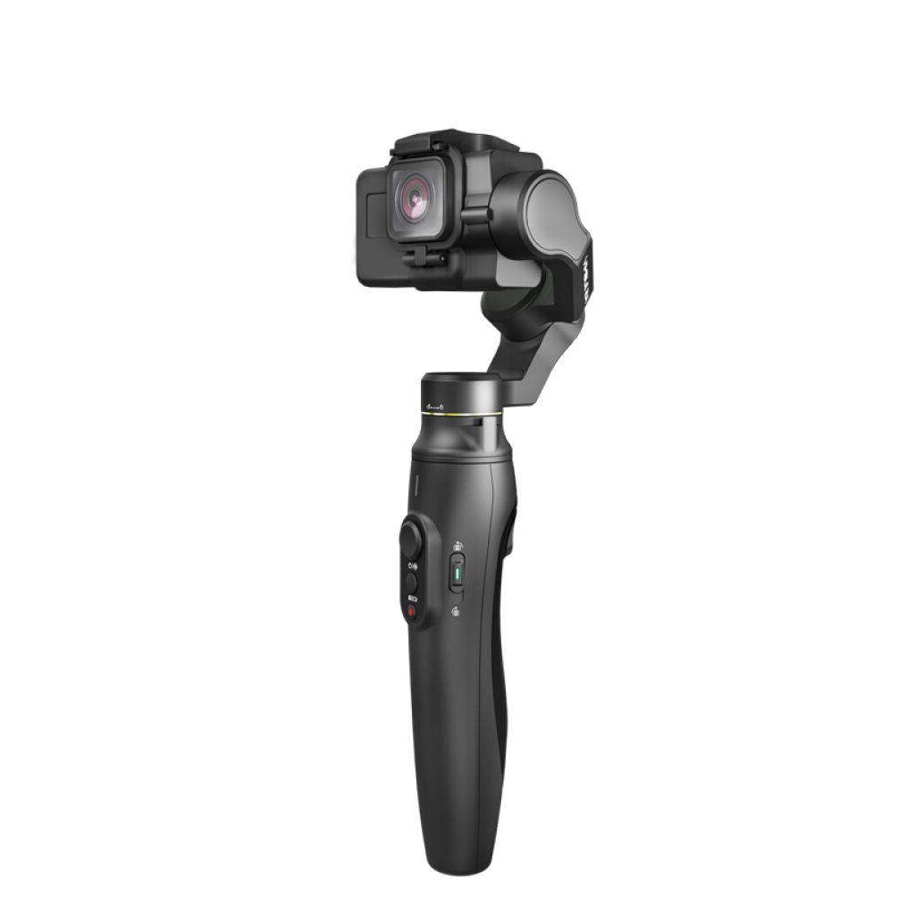 3-Axis Gimbal palmare Stabilizzatore per azione della macchina fotografica per GoPro 5/6/7, Anti-Shake, 18 centimetri retrattile Rod