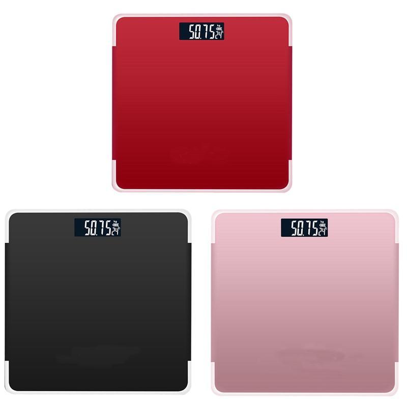 Display LCD Índice Electronic Body inteligente balanças 180 kg de Banho Corpo Axunge Bmi Scale Digital Peso Humano Balanças de piso