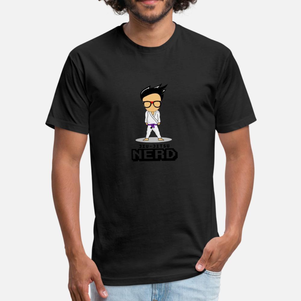 Jiu Jitsu İnek t gömlek erkekler baskılı tişört S-XXXL Vintage Fit Casual Yaz Stili Resimleri gömlek
