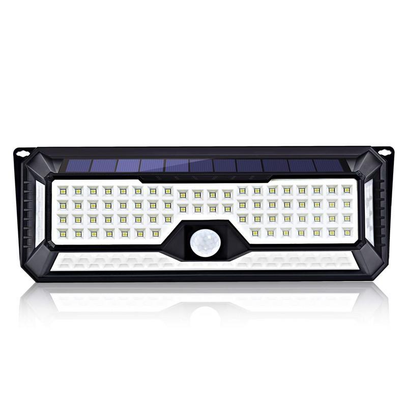 LED Güneş Sensörü Duvar Işık PIR Sensör Işıklar 86 Ön Kapı Garaj Yard için 270 Geniş Açı Su geçirmez Kablosuz Güvenlik LED Işıklar