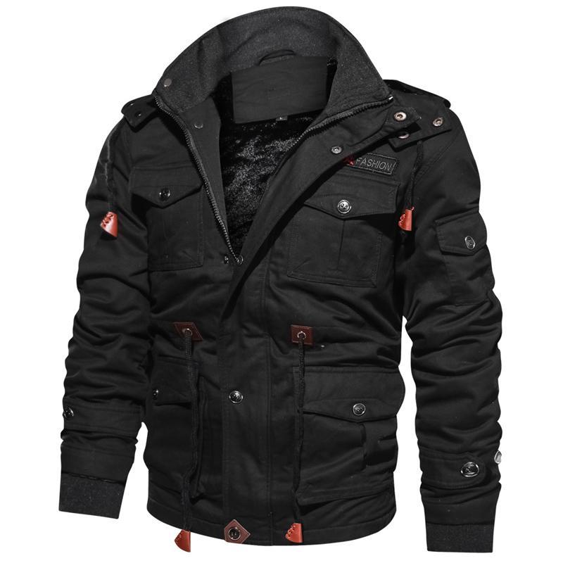 Sıcak Satış Kış Ceket Parkas Erkekler Kalın Sıcak Casual Outwear Ceketler ve Coats İçin Erkekler jaquetas masculina inverno Kapşonlu Palto CX200814