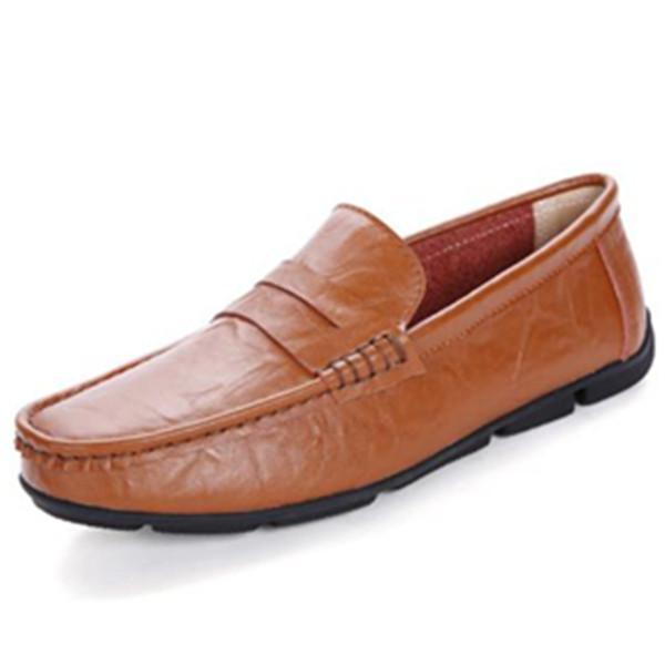 2020 calidad de la manera del verano de los hombres de los zapatos ocasionales de malla ligera zapatillas de deporte al aire libre clásica cómoda y transpirable primavera cómoda conducción Hombres