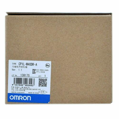 New In Box Omron CP1L-M40DR-A CP1LM40DRA PLC MODULE 1 year warranty