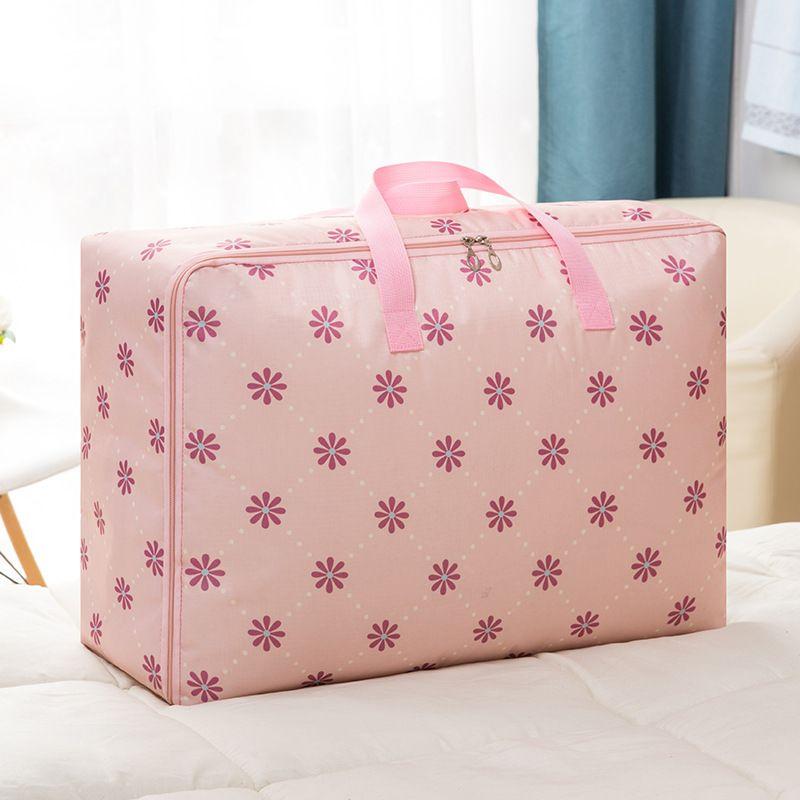 Yiwu bagagem Oxford saco de tecido Household Waterproof Acabamento Bag Quilt Buggy Saco Roupa Packing