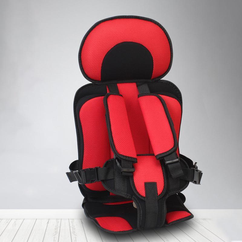 Nueva ajustable Cojín hijo seguro cuello alivio de la cabeza de apoyo potable silla para niños Actualizado Asiento Versión engrosamiento bebé de la esponja Mat CX200813