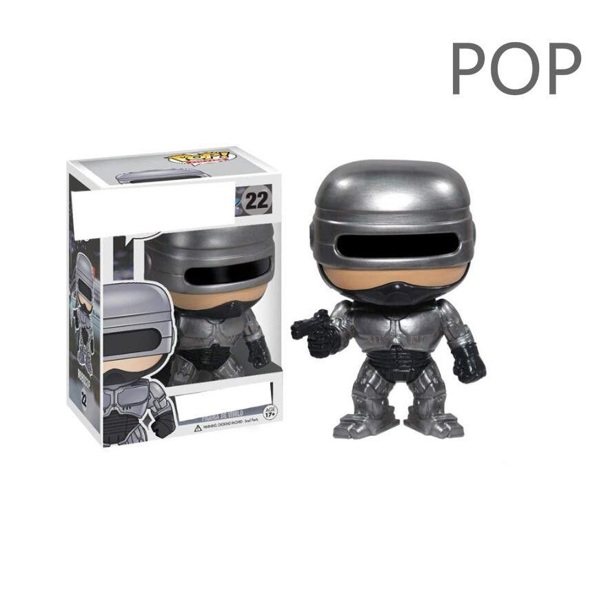 Funko POP Robocop televisão modelo de escritório mão periférica de cinema e brinquedos periféricas 22 #