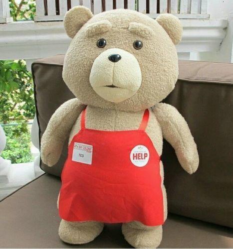 Ursinho de pelúcia 50 centímetros XXL Filme Plush Toy TED 2 Urso Tecido animal Toy presente para amigo