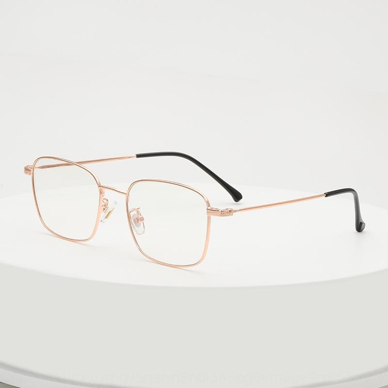 L'Oreo Homens quadrado de 9192 armação de metal Miopia Óculos mulheres kickwith miopia óculos de armação óptica
