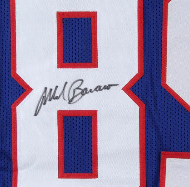 Марк Bavaro Карьера Выделите Stat любой игрок все Подписана signatured автографом либо все спортивные команды Джерси рубашки