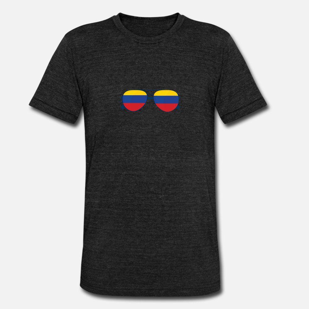 Colombia vince Shirt T Presente Uomini Design manica corta rotonda del collo originale camicia sveglia Umorismo Estate stile normale