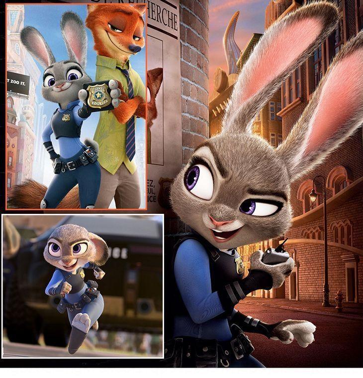Pazzo Animal città pazza animale set completo cos judy judy coniglio cos personificazione cosplaywear set completo hVEAm
