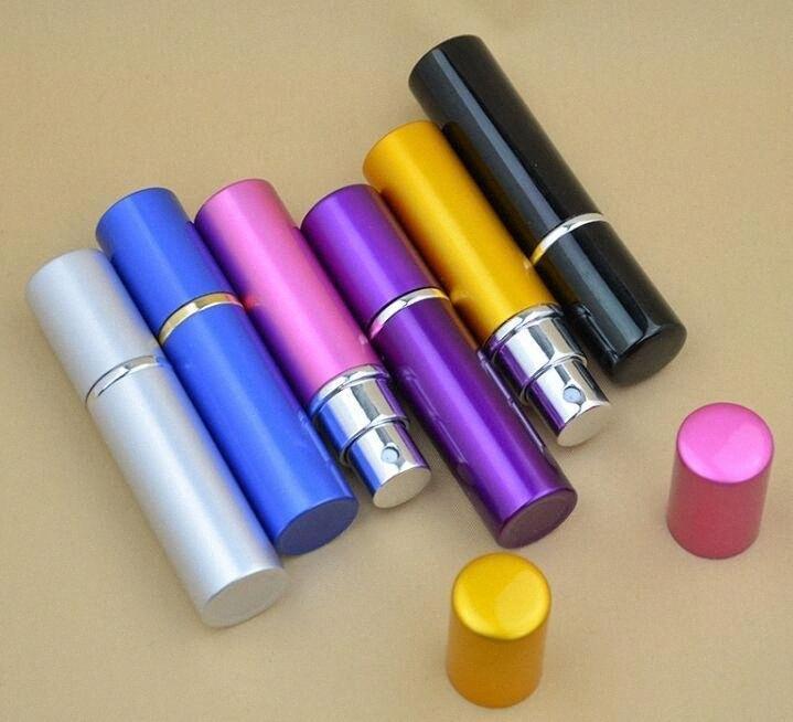 Profumo ML Viaggi atomizzatore riutilizzabile Spray bottiglia vuota facile da utilizzare con 6 disegni 45vN #