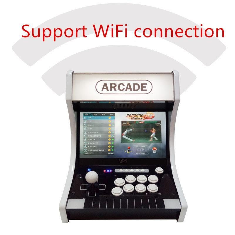 Cgjxs Pandora Box 9 9h 3d 14 Inch Lcd Arcade Bartop 1500 In 1 3288 In 1 2448 In 1 Zero Delay Joystick Buttons Retro Video Arcade Game Consol