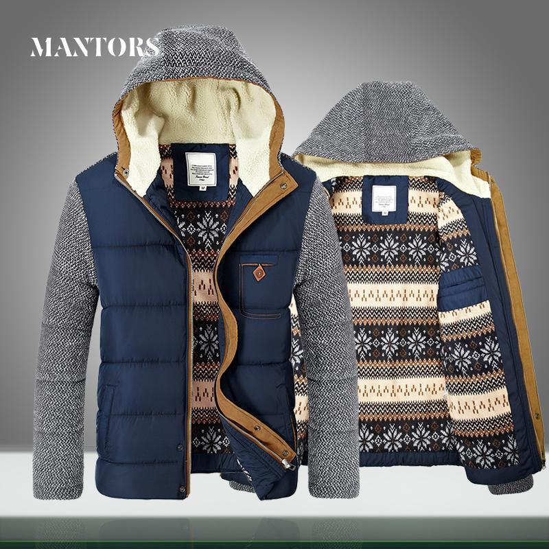 Kış Coat Erkekler Sıcak Parkas Kalın Fleece Pamuk Erkek Pilot Palto İnce Fermuar Kapşonlu Bombacı Ceket Kadife Erkek Marka Giyim CX200814