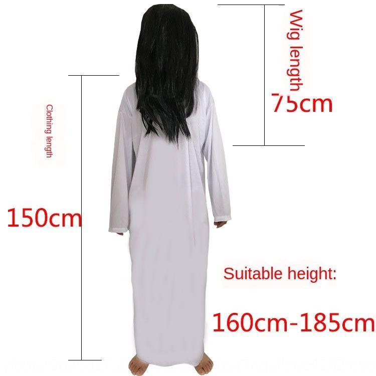 Wanshengjie Kleidung für Erwachsene Zhenzi weiß Horror rot unheimlich cosplay Kleidung der Frauen Geist weiblichen Geist Tod Kleidung d8lz1
