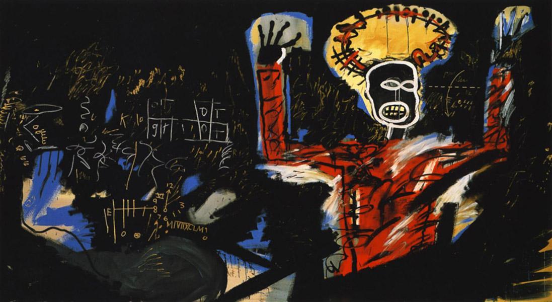 Art Gewinn-i Jean-Michel Basquiat Ölgemälde Leinwand Moderne Wand-Kunst-Modular Wandbilder für Wohnzimmer Deco