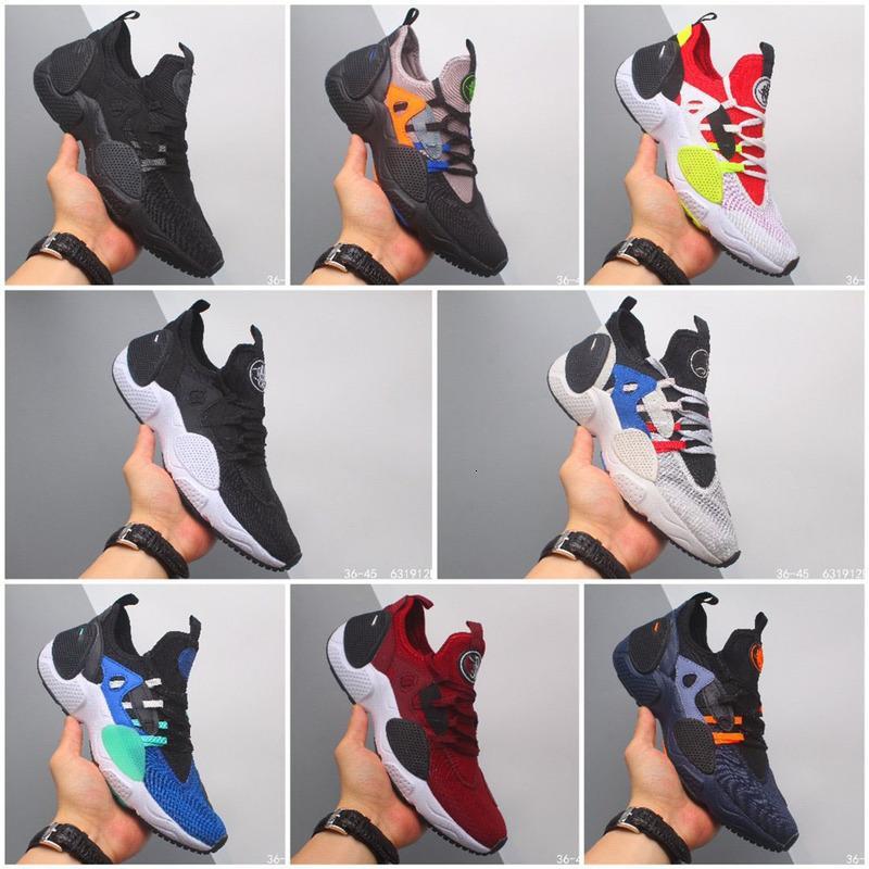2020 son resmi patlama eğilimi tasarım huarache E.D.G.E. TXT QS Wallace 7 nesil fonksiyonel koşu ayakkabıları rahat ayakkabı