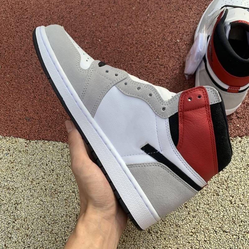 2020 Новой 1S качество продукция Ретро High Light дымкового Баскетбол обуви аутентичные Мужчины Женщина 1 открытые кроссовки с оригинальной коробкой Eur36-47.5