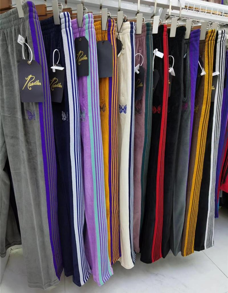 Pantolon Hip Hop 1 Yüksek Kalite nakış Parça Sweatpants Japonya Pantolon
