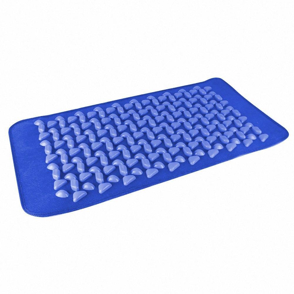 Walking Yoga Pedicure casa Faux Cobblestone sano del piede fitness Mat rilievo di massaggio SwIB #