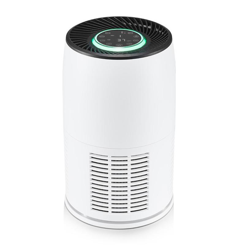 2020 Limpiador de casa inteligente de aire purificador de aire HEPA filtro de bajo ruido Purificadores de habitación