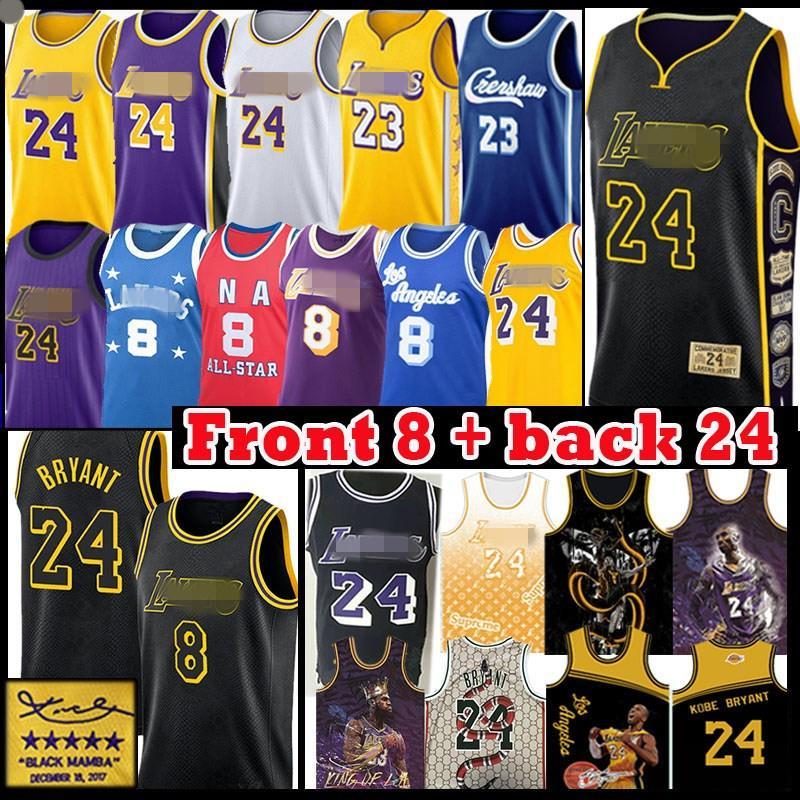 LeBron 23 James Aşağı Merion 8 33 24 kolej BRYANT Basketbol Jersey Erkek Gençlik Çocuk Los Angeles \ rLakers \ rncaa Carmelo 00 antho