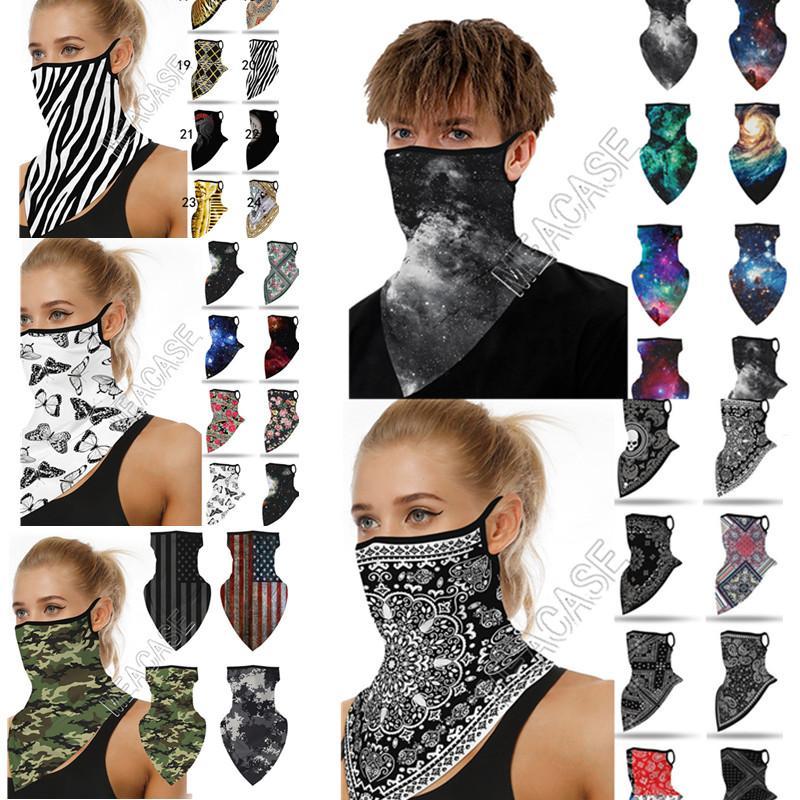 41 Stilleri Sihirli Spor Eşarp Üçgen Bandaj Moda Yüz Maskesi Facemasks Biker Bisiklet Atkılar Ağız Kapak Camo Yıldızlı Totem Yazdır D ISKV