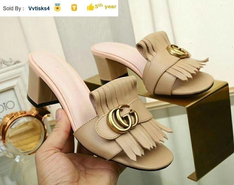 Summer women Brown platform high heels Casual Handmade Walking Tennis Sandals Slippers Mules Slides Thongs