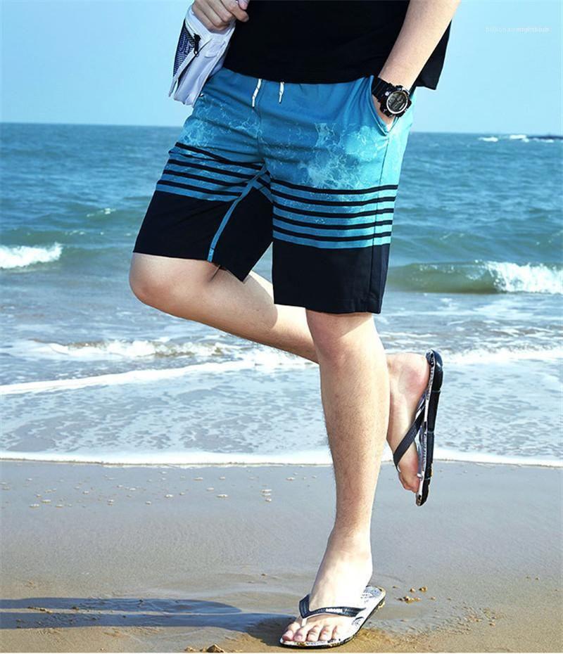 Herren Shorts plus Größen-beiläufige Herrenmode Herren Designer Sommer Relaxed Shorts Hosen Schwimmen Printed Kordelzug