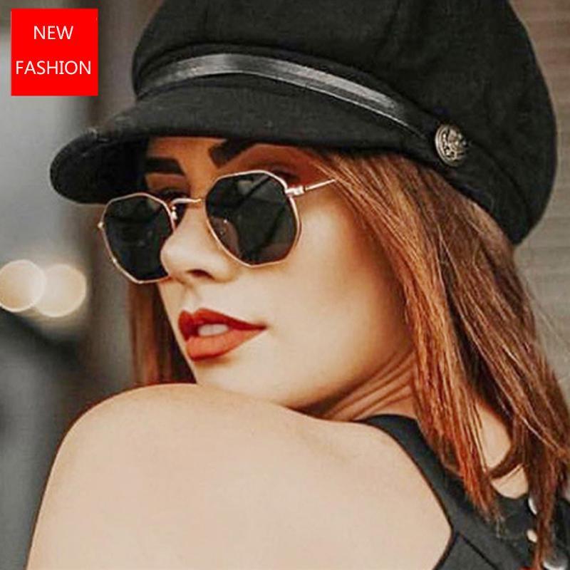 2020 Vintage Metal Güneş Kadınlar Ayna Klasik Retro Sokak The Beat Gözlük Erkekler Gözlükler Sürüş