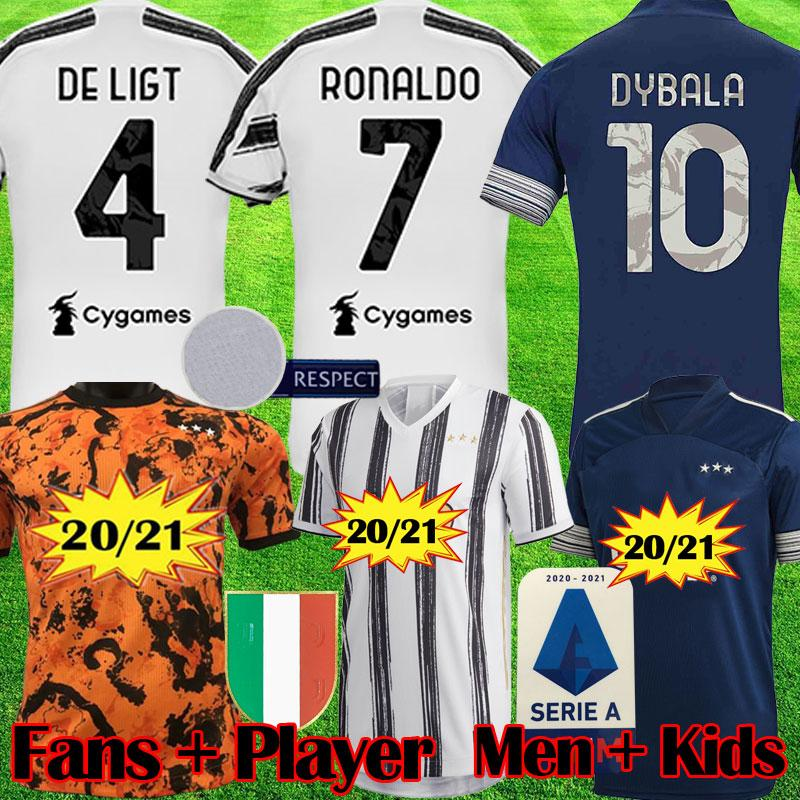 2020 fans player juventus soccer jersey ronaldo de ligt football shirts 20 21 dybala juve fourth men kids kit uniforms 2020 2021 equipment from popjerseystore 9 11 dhgate com dhgate com