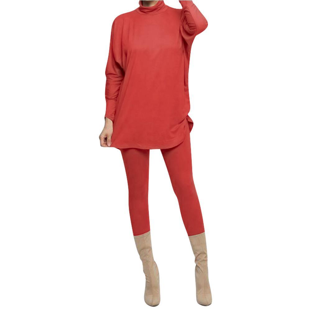 Womens Designer Survêtements manches longues Skinney Pantalon 2PCS Costume taille haute Solide Couleur précarisés Vêtements