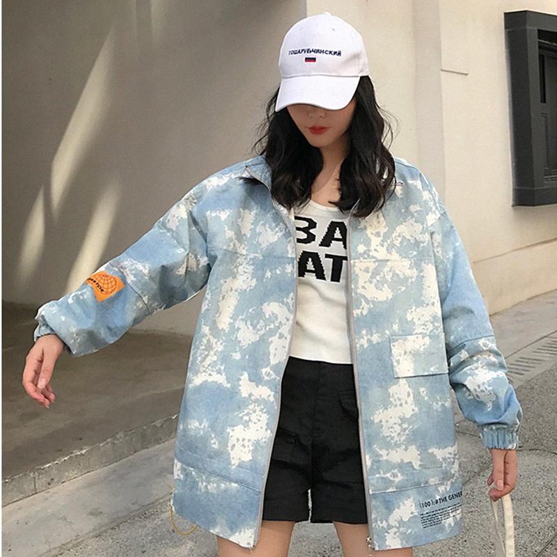 Loose Windbreaker Mid Long Jacket Women Winter Cargo Coat Thick Streetwear Warm Parka Padded Overcoat Bomber Female Outwear 1DUL#